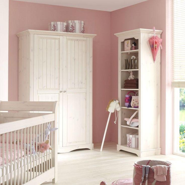Vintage Babyzimmer Lotta B cherregal B den Kiefer massiv White Wash Steens Furniture M bel g nstig kaufen