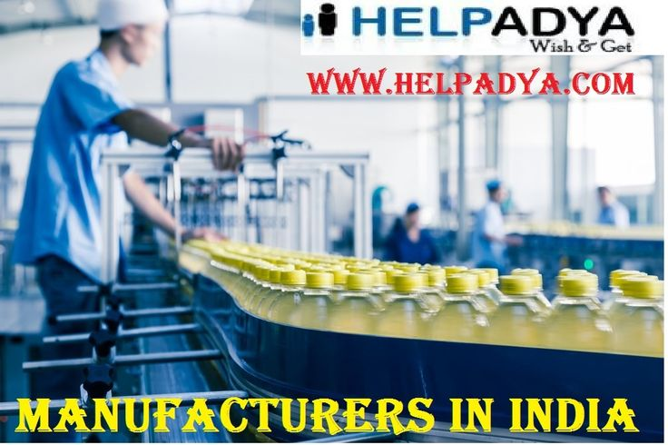 Help Adya is the Online Manufacturing Services and any where in India. we are offer the display advert Manufacturers in India. You just have to show your Job ad posting in the Manufacturing Service Online including Govt. jobs,job offer,job seeker,placement service,overseas jobs etc., if you want more information visit here: www.helpadya.com and make a call on +918527198118.