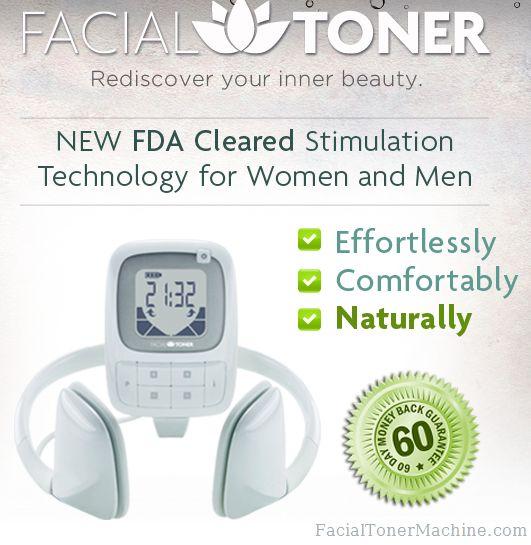 Electronic facial toner