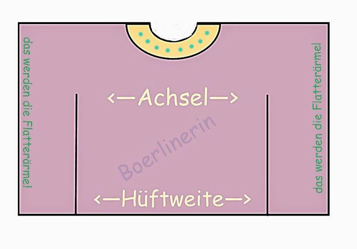 Boerlinerin - mit Herz und Verstand: Tutorial - Poncho oder Kaftan