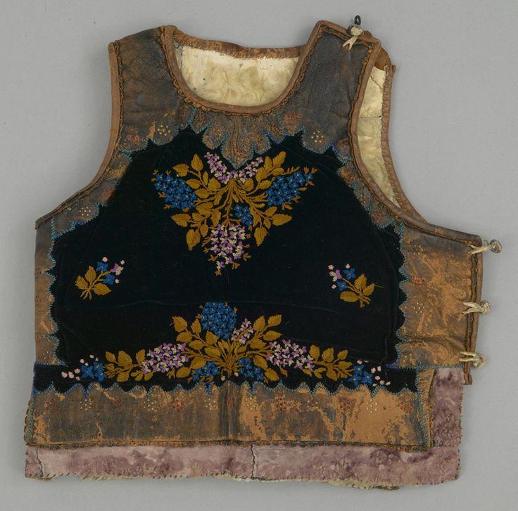 pieptar, vest, waistcoat: Romania, early 20th century. Transylvania