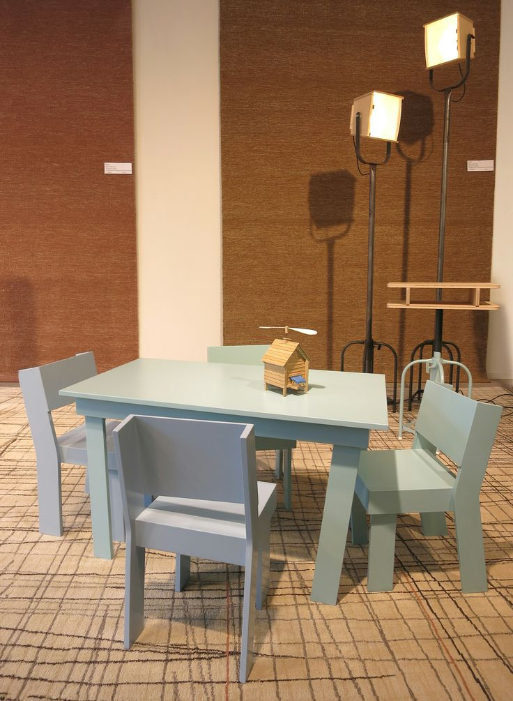 furniture childrens set     TOM FRENCKEN     shop window expo at vanCaster in Mechelen, Belgium. 2014