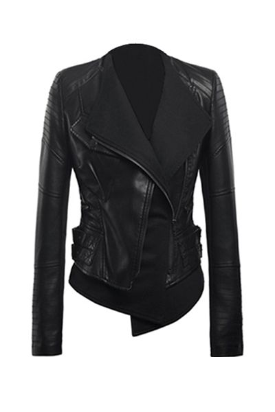 Rocker chick jacket.  The part of the 80s I can't leave behind.  Love my rocker/biker jackets