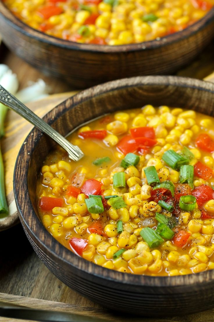 This soup is so incredibly delicious, light, filling, sweet and perfect for when you want a really simple meal that is minimal prep and time. I LOVE corn and was craving corn so bad lately, so I literally just whipped this up on a whim and it more than satisfied my corn craving. I also added some smoked paprika and