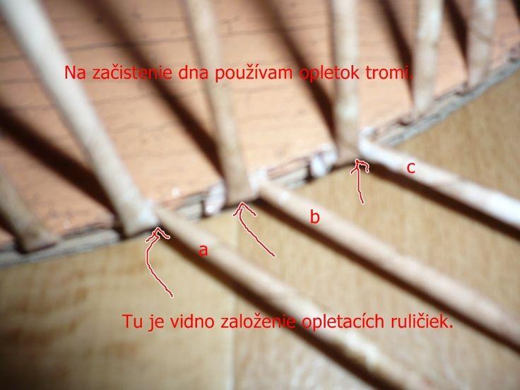 pletenie z papiera - Fotoalbum - Pletenie z papiera - návody - Návod na opletok dvomi a tromi ruličkami