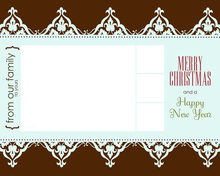 Christmas Card Templates For Photographers Free | My Loss, Your Gain: Free  Christmas Goodies  Free Xmas Card Template