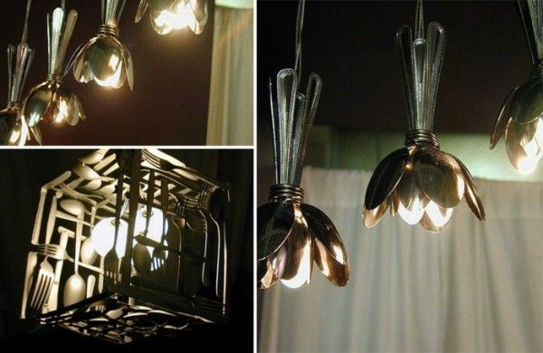 die besten 25 l ffel lampe ideen auf pinterest plastikl ffel lampe recycling kunst und diy. Black Bedroom Furniture Sets. Home Design Ideas
