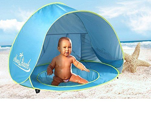 MonoBeach Baby Beach Tent Pop Up Portable Shade Pool UV Protection Sun Shelter for Infant | BeachMums