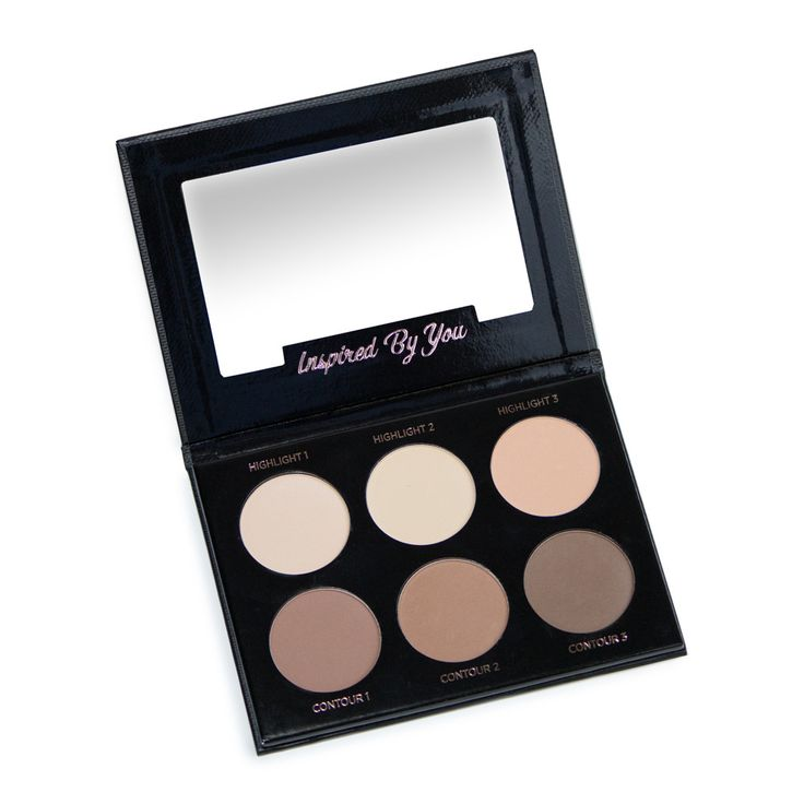 iby beauty powder highlight & contour palette. $40.