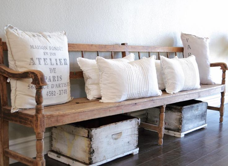ideas about Entryway bench on Pinterest  Entry bench, Rustic entryway ...