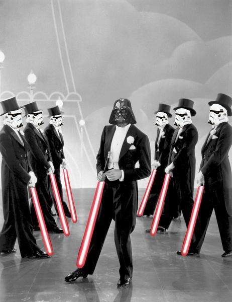 Sith is Song and Dance  puttin' on the force.