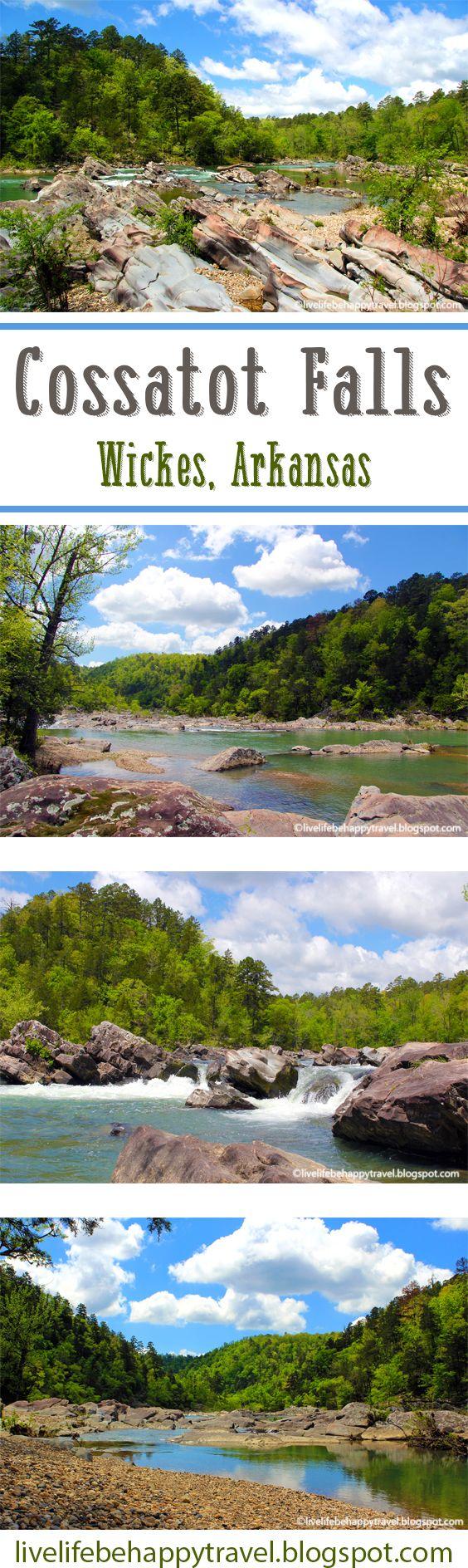 A Must Visit in Southwest Arkansas - Cossatot Falls - Cossatot River