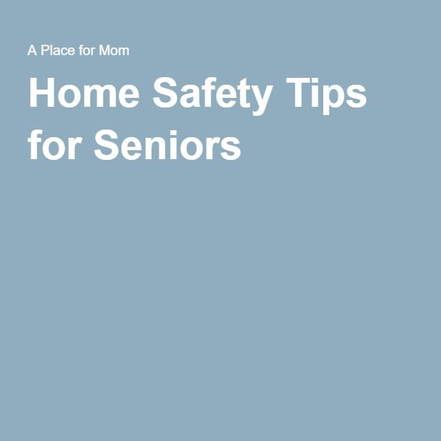 Elderly Home Safety: 17 Best Images About Home Safety For Seniors On Pinterest