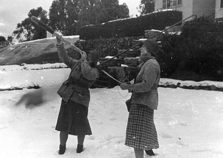 Volunteer Air Observers Corp. WW2. The Chalet, Mt Buffalo.