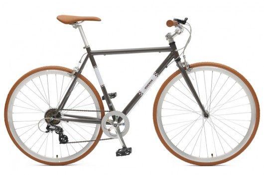 Vélo Ville Bohemian 7V Gris