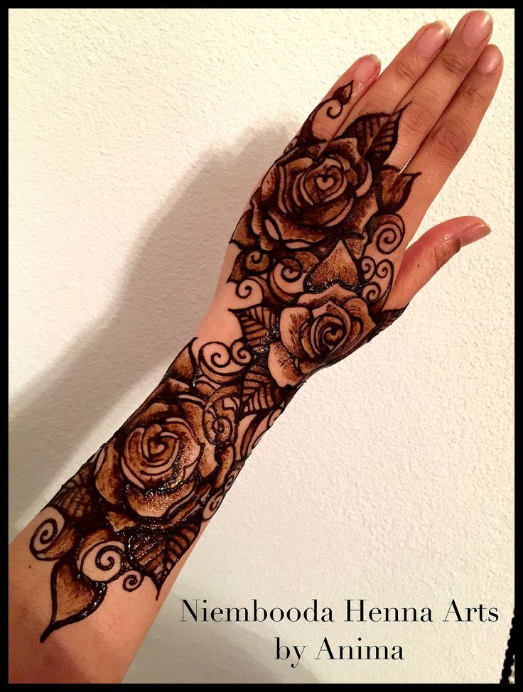 Mehndi Rose Tattoo : Best tattoos images on pinterest comment floral