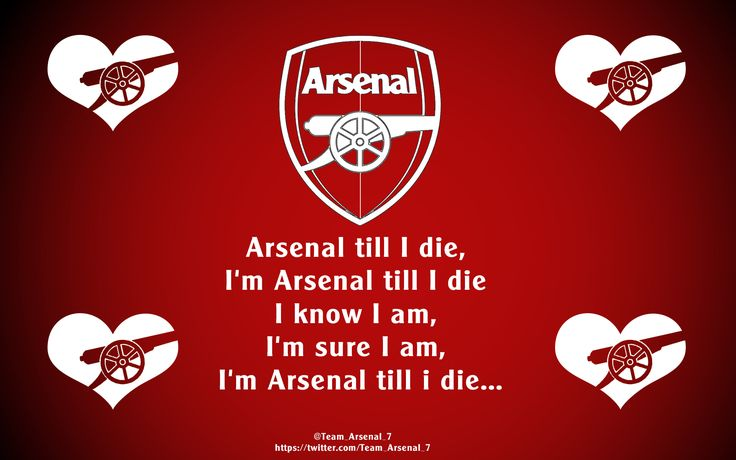 Arsenal Till I Die! #Arsenal #FanArt