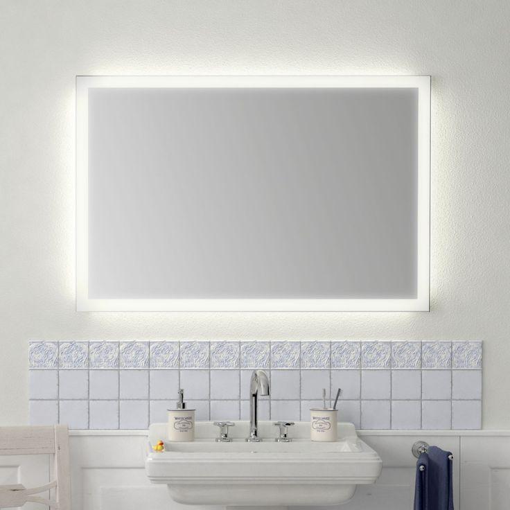 Badezimmerspiegel Mit Beleuchtung Naro Badspiegel Beleuchtet