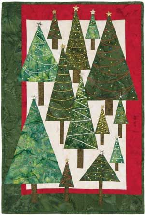 Another Christmas Tree quilt idea                                                                                                                                                                                 More