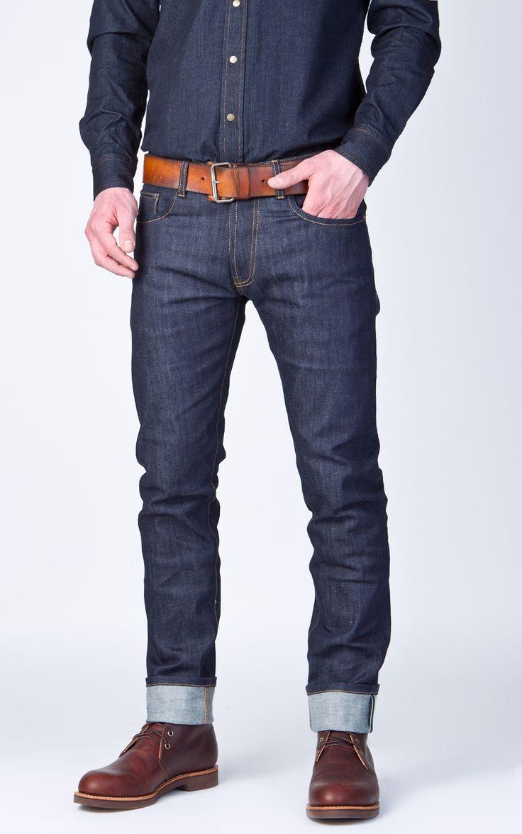 Livid Jeans Edvard Dry Comfort Selvage Indigo 11oz