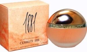 Cum e vara si cald si in asemenea ocazii este nevoie de un parfum racoritor m-am gandit sa vorbim astazi despre un parfum clasic al parfumeriei italienesti, si anume 1881 pour Femme de la Cerruti, parfum lansat in 1995,best-seller temeinic al casei de atunci si pana astazi. Casa italiana Cerruti a