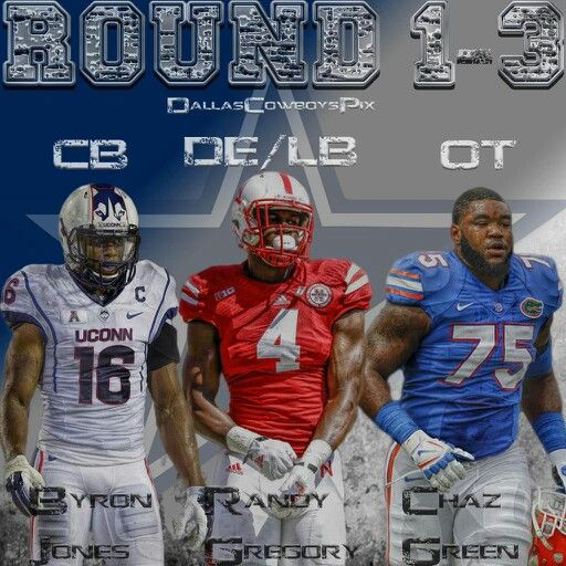 2015 Dallas Cowboys Draft 1-3.