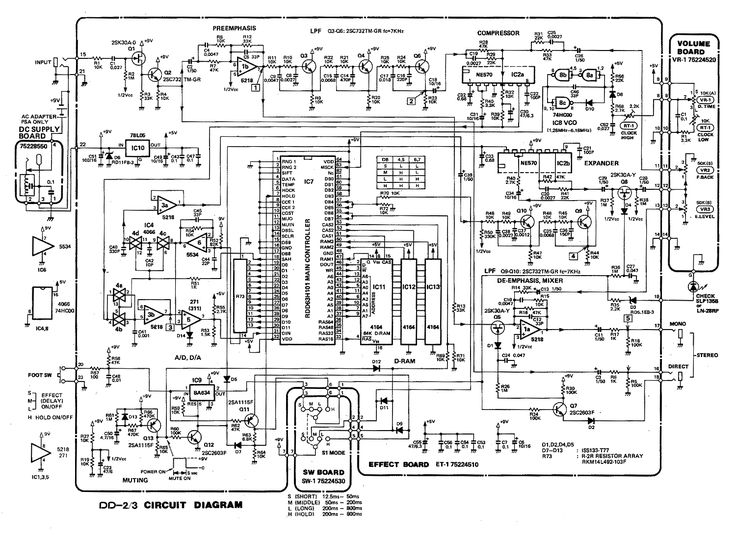 17 best ideas about electrical circuit diagram boss dd 2 digital delay pedal schematic diagram