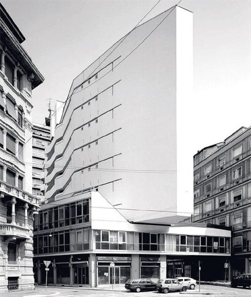 Luigi Moretti - Corso Italia Complex, Milan 1956
