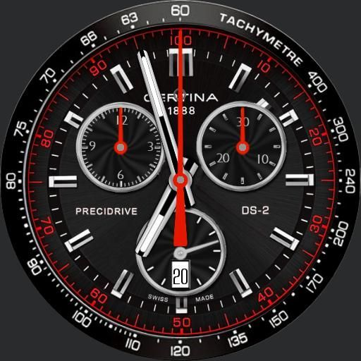 Certina 1888 Archives Watch Faces For Samsung Gear S2 S3 Android Wear Sfondi Orologio