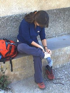 Great advice on shoes & footcare for the Camino de Santiago.