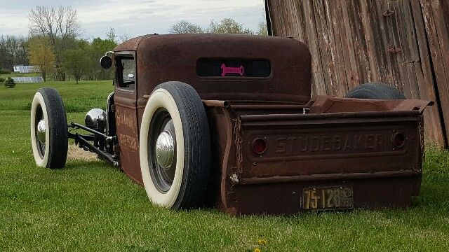 1930 Ford Model A pickup rat rod