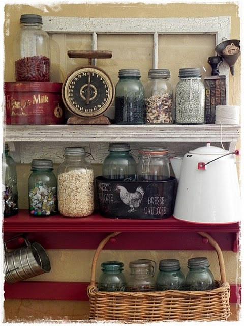 Vintage jars (1) From: A Southern Belle With Northern Roots, please visit
