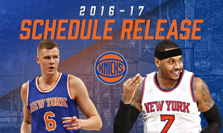 cavs vs knicks opening night 2016 | 2016-17 New York Knicks Schedule Announced | New York Knicks