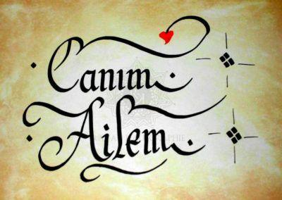 #canim #ailem   👍  | ➡  | 📝    🔹 https://facebook.com /rayankalligraphie 🔸 http://rayankalligraphie.de      #kalligrafi #kalligraphie #kalligrafie #calligraphy #callygraphie #art #sanat #kunst #budageceryahu #rayankalligraphie #moderncalligraphy #brushcalligraphy #calligraphyph #calligraphyart #arabicCalligraphy #calligraphymasters