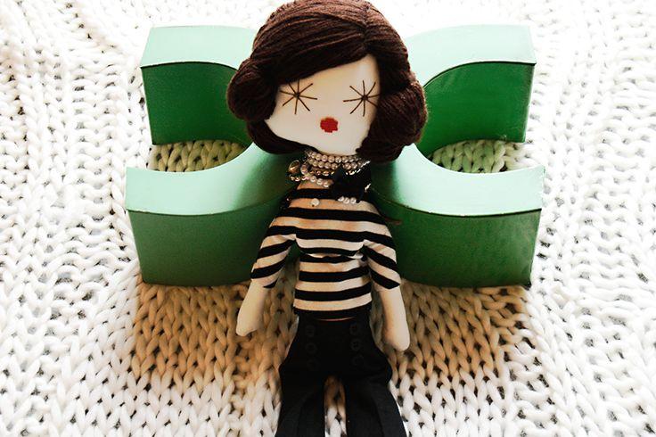 Laloushka Fashion Doll Coco Chanel