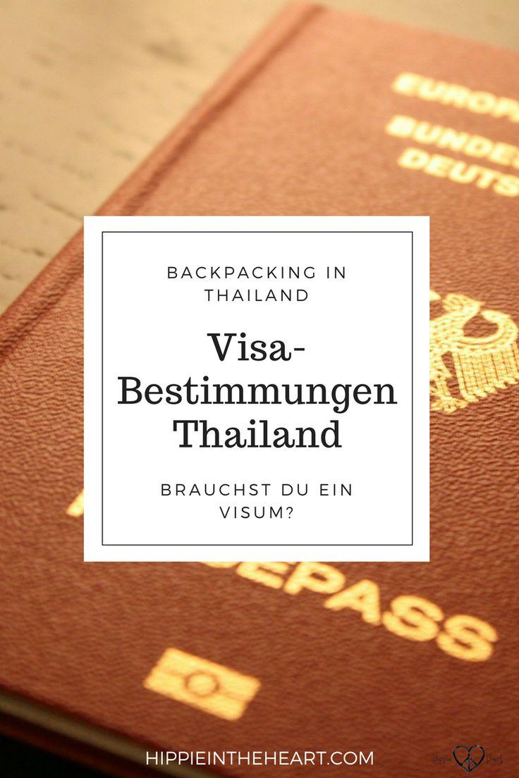 Alles zu den Visabestimmungen in Thailand, damit du für deine Reise nach Thailand optimal vorbereitet bist. Brauchst du ein Visum zur Einreise in Thailand? #Backpackinginthailand #backpacking #reisen #reise #thailandreise #reisepass #passport #travel #rucksackreise