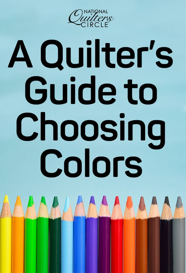 Quilter and colorist Heather Thomas shares some helpful tips and tricks to consider when choosing quilt colors for your next quilt project. By using a color wheel you can mix and match colors to see what colors will look best together. Follow along with Heather to learn how to incorporate use of a color wheel in your own quilting.