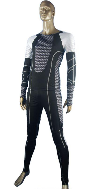 The Hunger Games cosplay costume uniform outfit Katniss Everdeen Peeta