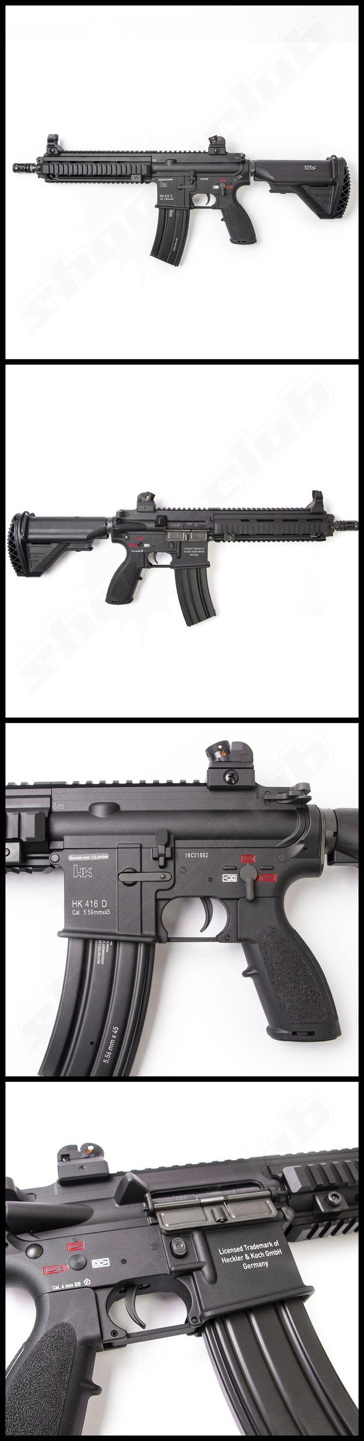VFC Heckler und Koch HK416 CQB Next Gen. mit Mosfet SAEG Softair Gewehr LiPo Redy