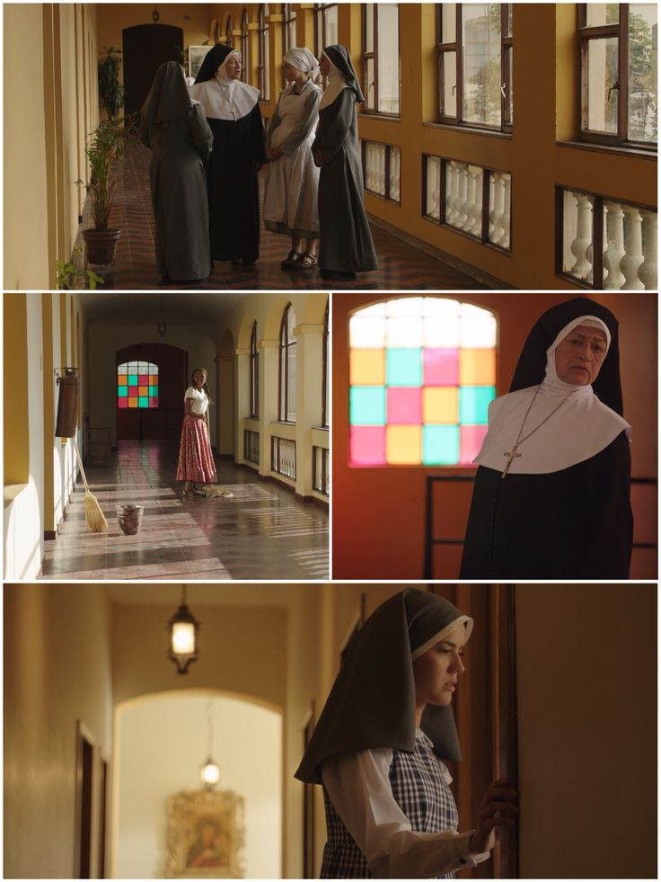 Convento Corredores día