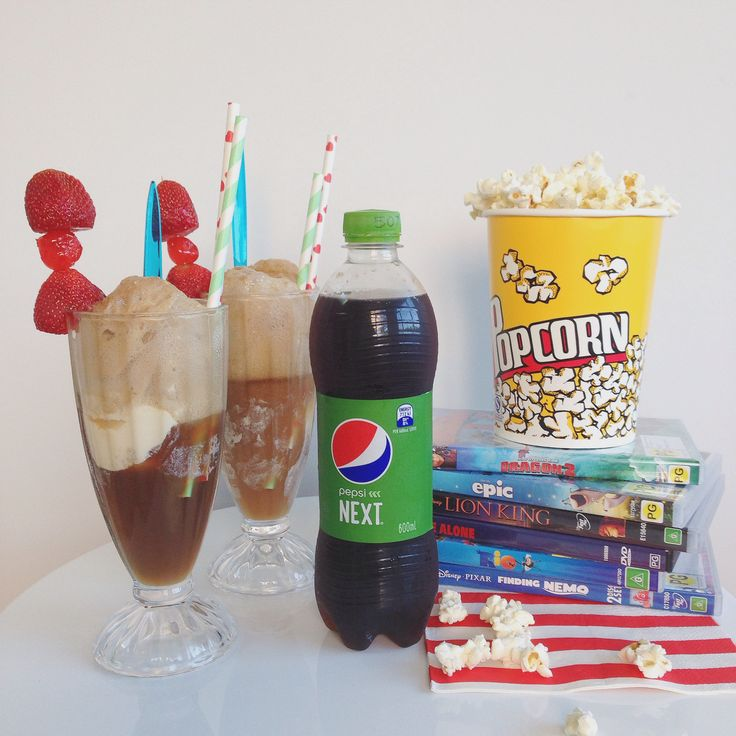Ice Cream Sodas, Spiders, Floats with Pepsi Next