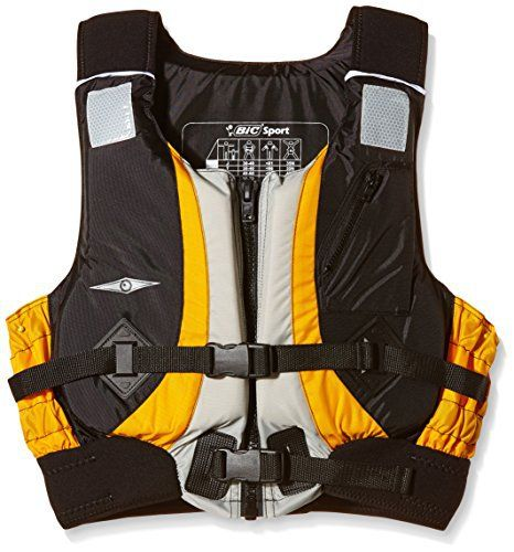 BIC Sport  – Chaleco salvavidas para barcos ( kayak, junior ) , color multicolor, talla Junior
