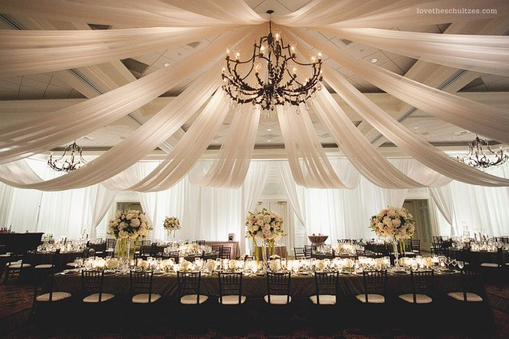 50 best images about wedding reception ideas on pinterest receptions creative and the glades - Decoration chandelier pour mariage ...