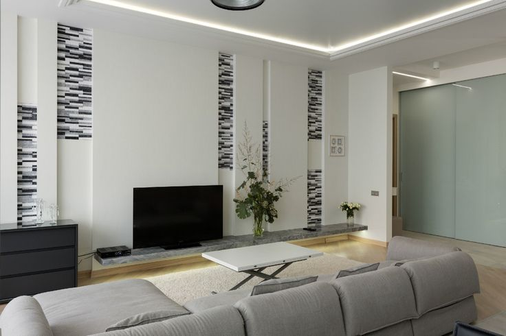 interior design living room apartment modern apartments interiors decorating white wall
