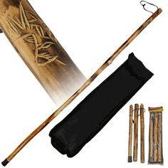 """Red Deer Hand Carved Deer Collapsible 55"""" Walking Stick. Walking sticks have never been as functional and as elegant as these. Red Deer walking sticks are truly a work of art while offering full suppo"""