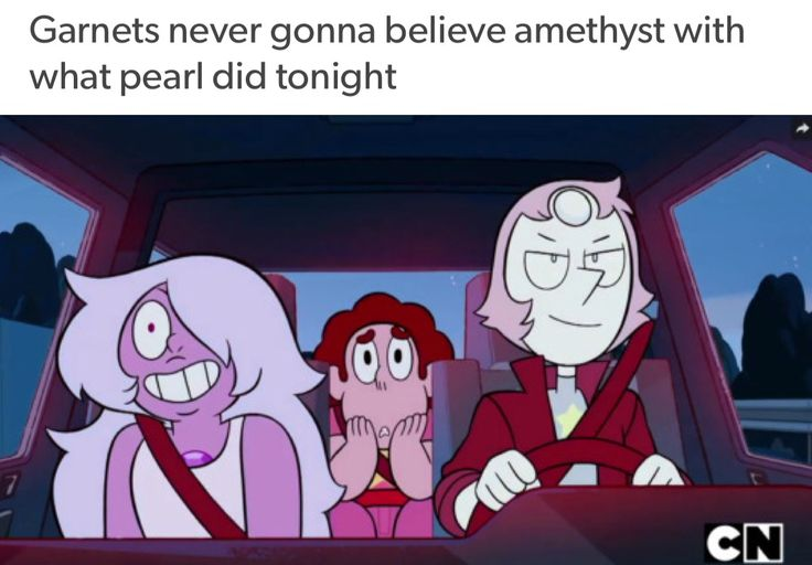 I WANT AN EPISODE WHERE THEY TELL GARNET ABOUT ALL THIS SHIT AND SHE IMMEDIATELY SHIPS PEARL AND THE MG SO SHE BUYS PEARL A PHONE