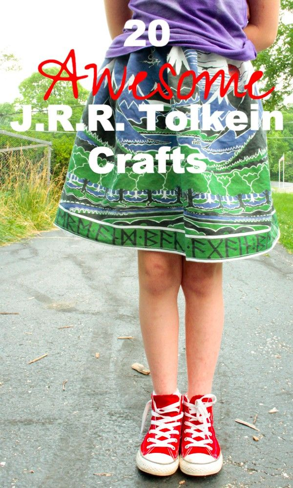 Check out these super-nerdy, eco-friendly J.R.R. Tolkien crafts. You know that your big hobbit-loving heart wants you to make at least one!