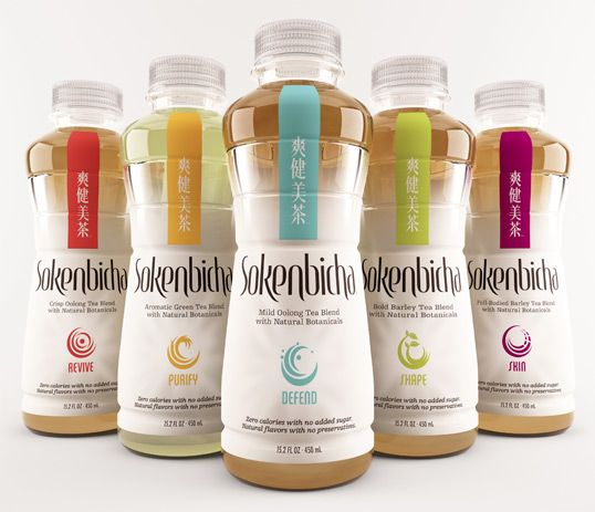 bottled tea offering five formulas that balance ancient wisdom with modern taste