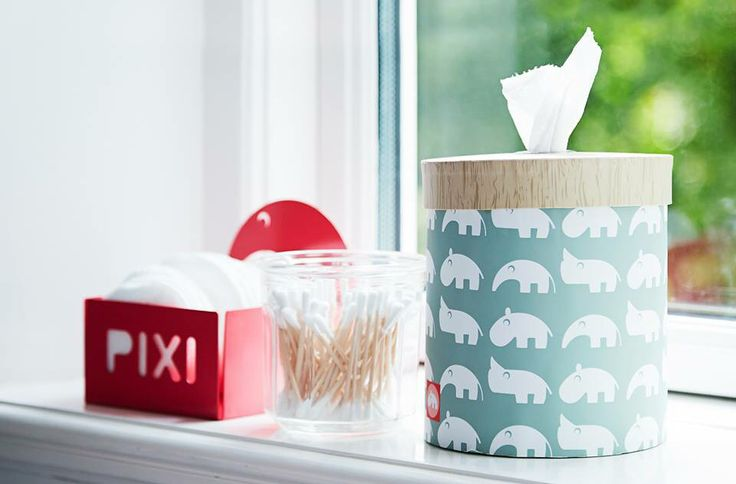 Perfect storage for whatever you need in your nursery room. #donebydeer