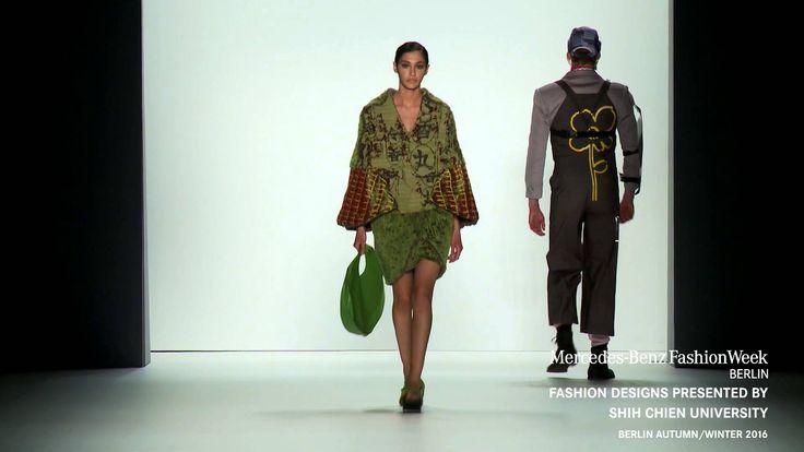 FASHION DESIGNS PRESENTED BY SHIH CHIEN UNIVERSITY  A/W 2016 fashion show during Mercedes-Benz Fashion Week Berlin